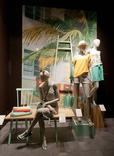 Promod windows 2014 Summer, Paris – France »  Retail Design Blog