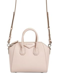 This light blush colored Givenchy bag will go with everything is your closet!