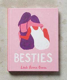 Besties Book Anthropologie creative valentine's day gifts