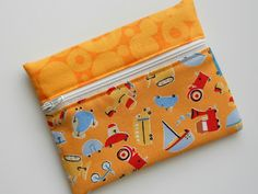 My SNAP TRAP wallet -- with the right fabric can be made for adults too!