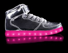 HOVERKICKS Metallic Super Nova Kids | Silver