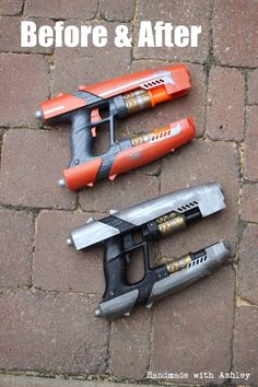 Peter QUILL's Blasters (COSPLAY) | Marvel DIY
