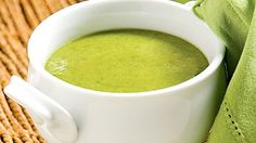 Une recette facile de potage au brocoli, très santé! Soup Recipes, Diet Recipes, Vegan Recipes, Brain Food, Plant Based Diet, Entrees, Vegetarian, Lunch, Meals