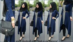 Image de hijab, fashion, and hijab is my diamond Stylish Hijab, Modest Fashion Hijab, Hijab Chic, Modest Outfits, Fashion Outfits, Fashion Muslimah, Abaya Fashion, Fashion Fashion, Muslim Women Fashion