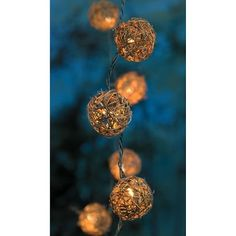 Rattan Ball String Lights Target : 1000+ images about Home Decorating Lightning Ideas on Pinterest Christmas lights, String ...