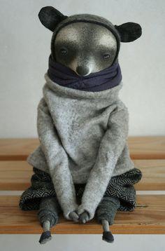 Goran raccoon by cuckoodoll on Etsy