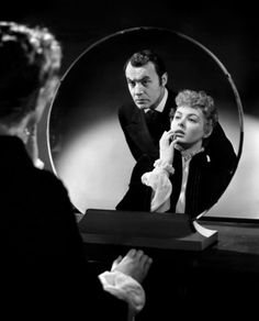 Charles Boyer and Ingrid Bergman in a publicity shot for Gaslight (1944)