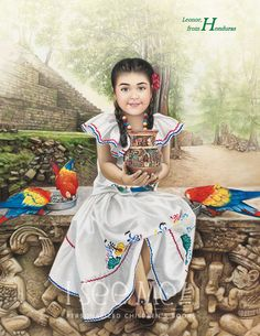 "Honduras - As featured in ""My Very Own World Adventure"" personalized children's book by I See Me!"