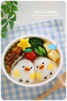 Bento Box Lunch For Kids, Bento Kids, Lunch Box, Kawaii Bento, Cute Bento, Bento Recipes, Baby Food Recipes, Food Art Bento, Desserts Japonais