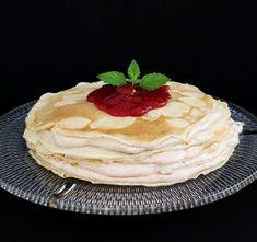 Cseresznyedzsemes pillecukros palacsintatora Waffles, Pancakes, Breakfast, Air Pods, Food, Morning Coffee, Eten, Waffle, Meals