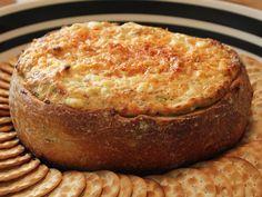 Baked Crab & Artichoke Dip - Super Bowl Dip Recipe