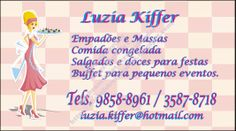 Michele Freitas Artes: Artes Delícias da Lú e Kiffer Buffet