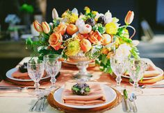 10 Rustic Centerpieces with Vegetables,Fall centerpieces, orange & yellow flowers
