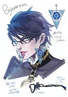 キャラクターデザインその1:ベヨネッタとジャンヌ | Bayonetta 2 開発者ブログ
