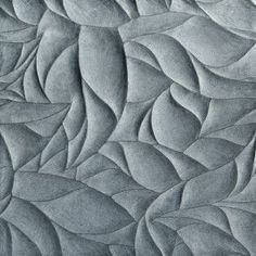 Artistic Tile Ziva Leaves Lake Blue