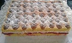 Zutaten: Für den Biskuitboden: -60 g Butter, geschmolzene und abgekühlte, noch flüssige -4 m.-große Eier -125 g Zucker ...