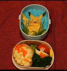 Pikachu Bento. #pokemon - Foodista.com