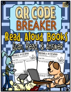 QR Codes are a great way to help students read.  Learn a little then grab the freebie QR Code Breaker: Scan, Read,  Answer