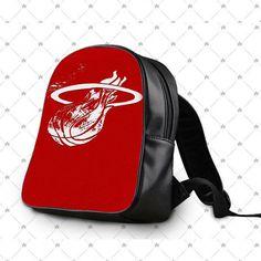 Basketball Miami Heat School Bag Backpacks