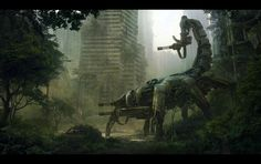Conceptual Art | wasteland 2 the scorpitron concept art
