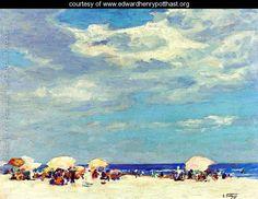 Beach Scene II - Edward Henry Potthast - www.edwardhenrypotthast.org