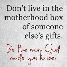 Yes!!  #Motherhood #Quote