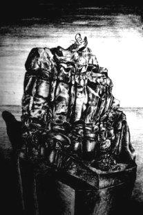 Pencil Drawings, Surrealist, Surreal Art, Black Rock, 2b Pencil, Great Artists, Ink Pen Drawings, Original Drawing, Seascape