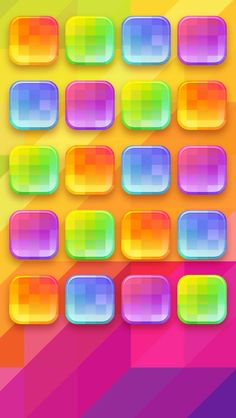 Crazy Wallpaper, Free Iphone Wallpaper, Cellphone Wallpaper, Wallpaper Backgrounds, Rainbow Wallpaper, Wallpaper Shelves, Tablet Phone, Square Photos, Homescreen