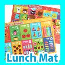 [Mart( Mart] publication 】 English study ぼう luncheon mat [lunch mat] [place mat] [lunch] [lunch] [goods] [picnic] [excursion] [OUTDOOR] [illustration] [cognitive education] [study] [is pretty] [child kids] [present] [gift] [celebration]