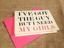 I've got the guy but I need my girls  La mariée aux Repetto