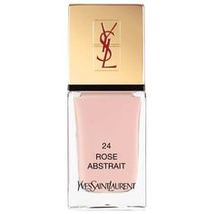 Yves Saint Laurent Beauty Women's La Laque Couture (800 UYU) ❤ liked on Polyvore featuring beauty products, nail care, nail polish, light pink, yves saint-laurent nail polish, shiny nail polish and yves saint laurent