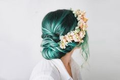 24 Colorful Hairstyles to Inspire Your Next Dye Job via Brit   Co