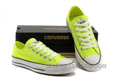 8c7508a22968 Korea Edtion CONVERSE All Star Chuck Taylor Light Fluorescent Green Tops  Canvas Shoes Lastest W5ZA2