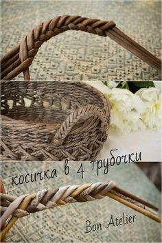 Фото майстер-клас (плетіння)   Паперове плетіння і не тільки Плетение из бумаги