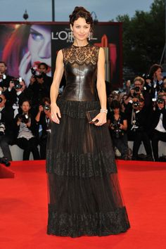 Olga Kurylenko in Valentino Dress at the  To The Wonder Premiere - The 69th Venice Film Festival