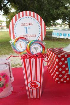 Carnival/Circus Birthday