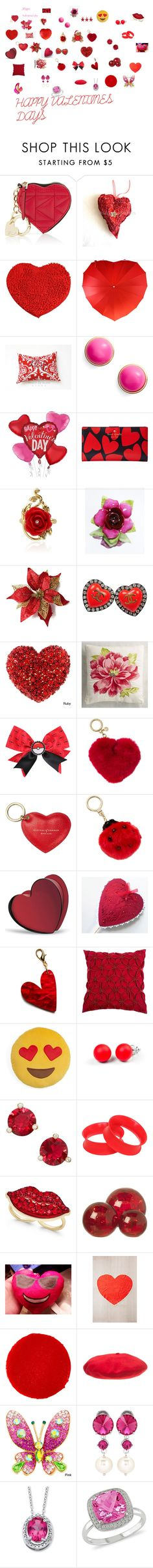 """""""HAPPY VALENTINES DAY"""" by sanablue on Polyvore featuring Karl Lagerfeld, Kate Spade, Disney, Coalport, Chanel, Pier 1 Imports, Nintendo, Michael Kors, Aspinal of London and Baccarat"""