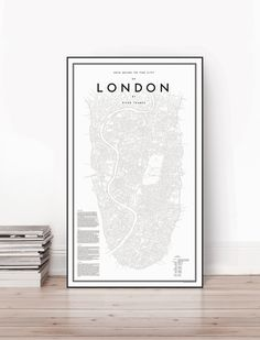 My Guide To London Poster