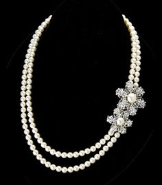 Thomas Knoell Designs Kim Pearl Necklace $120