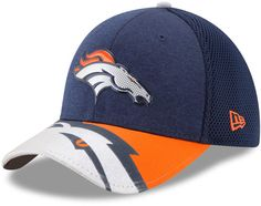 NEW ERA 59FIFTY FITTED CAP DENVER BRONCOS RRP £32 ON FIELD NFL SIDELINE