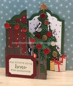 Created by Kath: Watercooler Wednesday Challenge 138 - Marsha's All About Christmas Challenge Christmas Cards 2017, Stamped Christmas Cards, Christmas Paper Crafts, Homemade Christmas Cards, Christmas Mom, Stampin Up Christmas, Christmas Settings, Xmas Cards, All Things Christmas