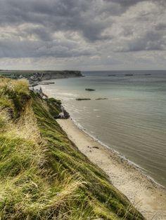 Photo taken @ Arromanches (France) Basse-Normandie