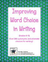 Improving Word Choice in Writing