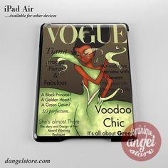 Tiana Disney Vogue Magazine Phone Case for iPad Devices