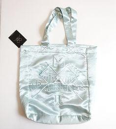Silk Shining Embroidery Korea Fashion Brand Alogon Fashion Eco Bag #veryshine #ECOBAG