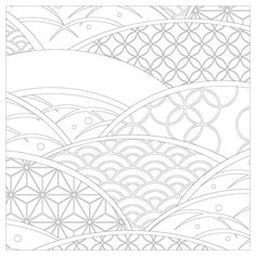 Vive Le Color Japan Japanese Scenes And Patterns Coloring Book