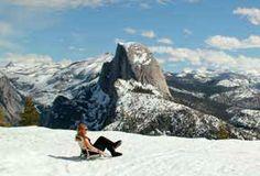 Yosemite Badger Pass Cross Country Skiing 10.5 miles