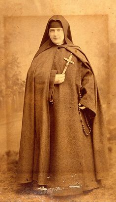 Vintage Sepia - Nun by Tobyotter, via Flickr