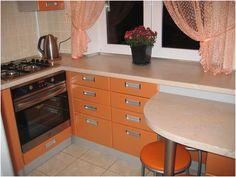 Идеи дизайна кухни в хрущевке (44 фото). | Дизайн кухни, интерьер, ремонт, фото.