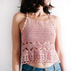 Crochet Camisole - Body 1